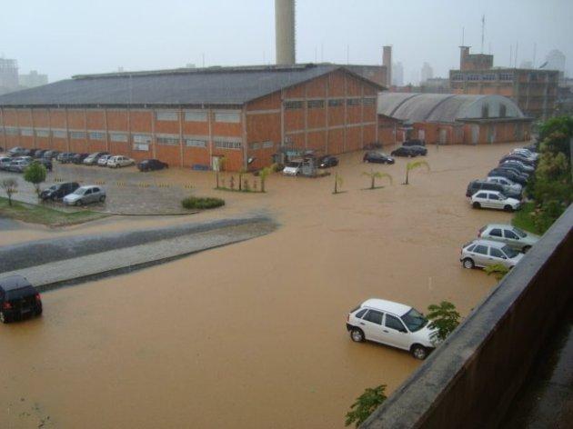 Inundação em Camboriú